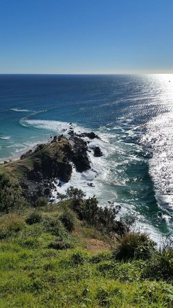 Cape Byron Lighthouse: view from the light house