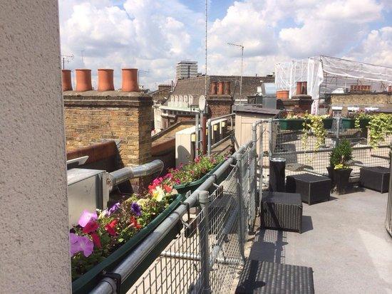 The Z Hotel Soho: Rooftop terrace