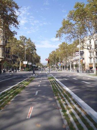 Green Bikes Barcelona : Bike infrastructure in Barça