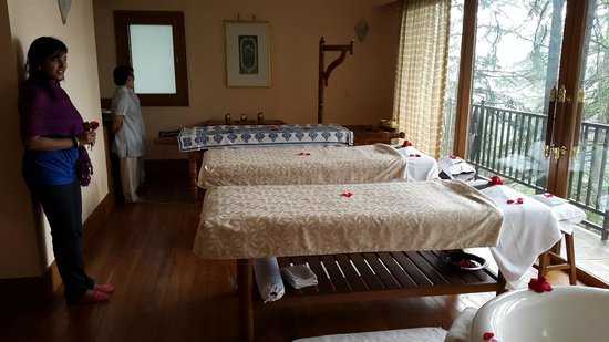 Wildflower Hall, Shimla in the Himalayas: SPa