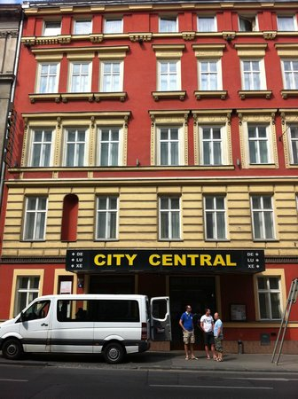 City Central Hotel : Frontansicht