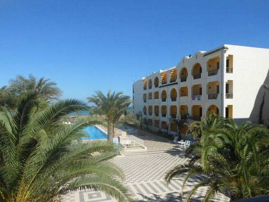 Diana Beach Hotel : Chambres vue piscine
