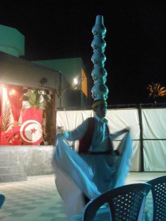 Diana Beach Hotel : Soirée orientale