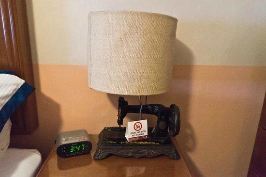 Posada Santa Fe: обстановка в номере