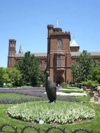 Smithsonian Institution Building: Another view of the front of the building