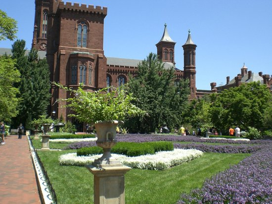 Front view of the Smithsonian Institution Building