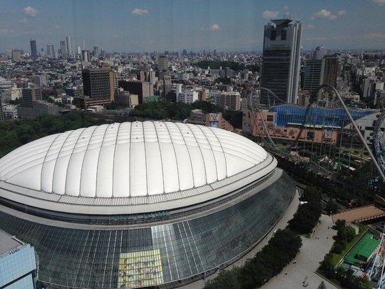 Tokyo Dome: 昼のドーム