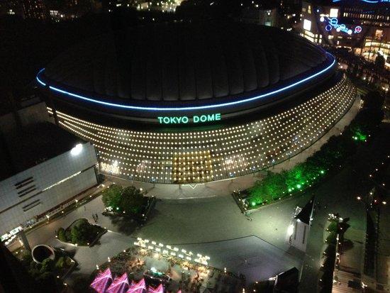 Tokyo Dome: 夜のドーム