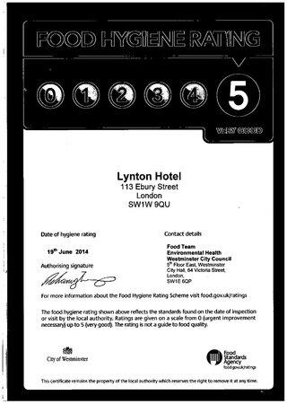 Lynton Hotel London