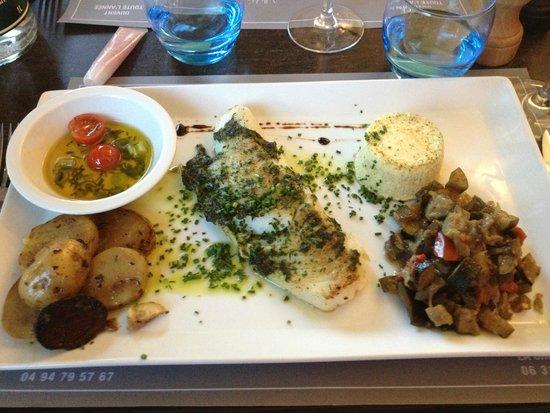 Cafe valmer : Cod fish