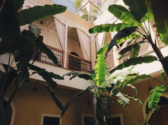 Chambres d'amis : The view inside the riad
