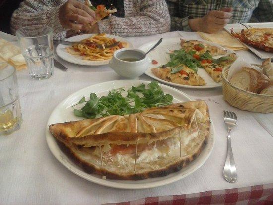 La Gondola : platos con buena presentacion