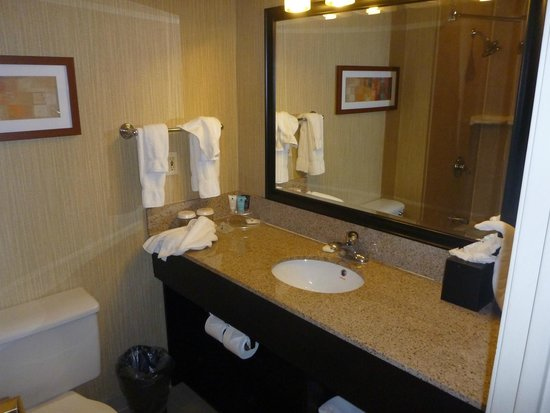 Crowne Plaza Newark Airport: bathroom
