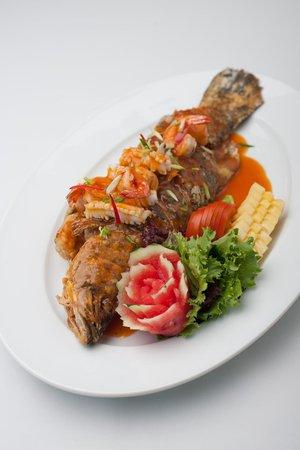 NagaWorld Hotel & Entertainment Complex : Excellent food at Fusion Restuarant
