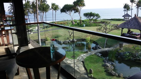 Pan Pacific Nirwana Bali Resort: view from sunset lounge