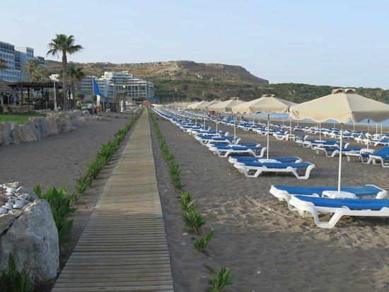 Rodos Palladium : Пляж