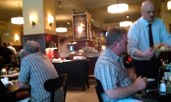 Django Restaurant: A view from our table