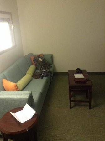 SpringHill Suites Florence : sitting area