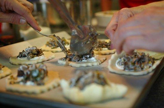 The Ambrosia Inn : Mushroom topping for Tarts