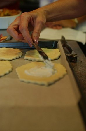 The Ambrosia Inn: Puff Pastry Tarts Prep