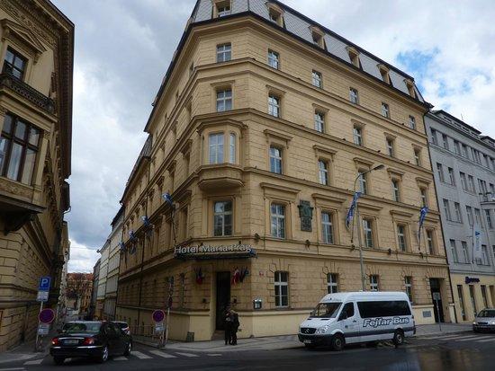 Falkensteiner Hotel Maria Prag : Frontansicht