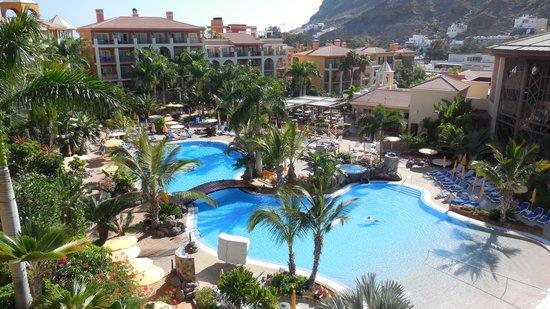 Cordial Mogan Playa: Balcony view room 2502 block B