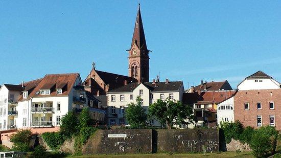 Neckargemund, Tyskland: Nice building structures