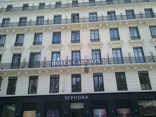 Hotel Carlton Lyon - MGallery Collection: la façade