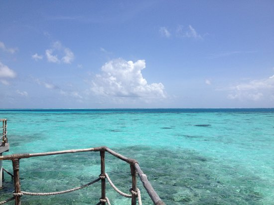 Constance Moofushi: View from our Water villa