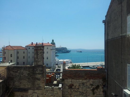 City Museum of Split: vista sul porto