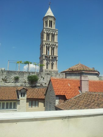 City Museum of Split: vista sul campanile