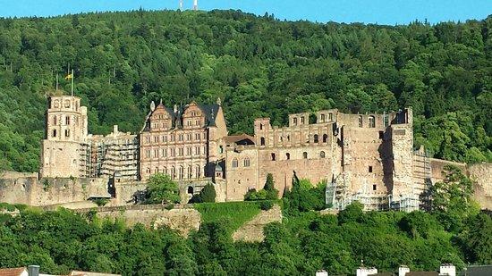 Schloss Heidelberg: A shot taken in the late evening