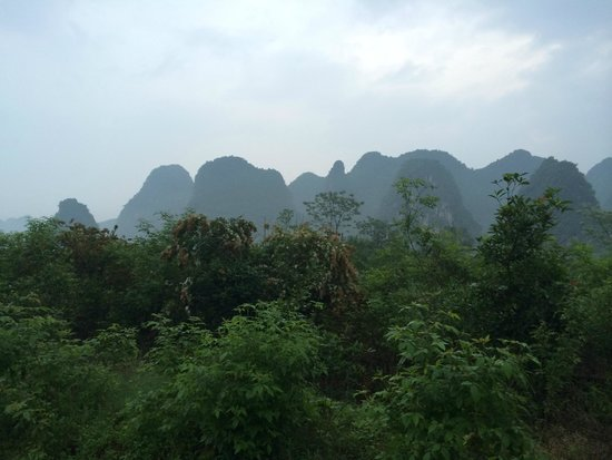 Yangshuo Tea Cozy: View from our suite