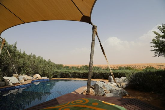 Al Maha, A Luxury Collection Desert Resort & Spa: Your private pool at your suite