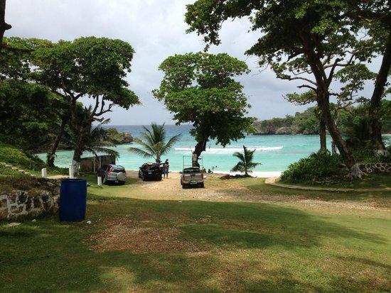 Caribbean Dawn: Boston Bay (a few minutes' drive from CD)