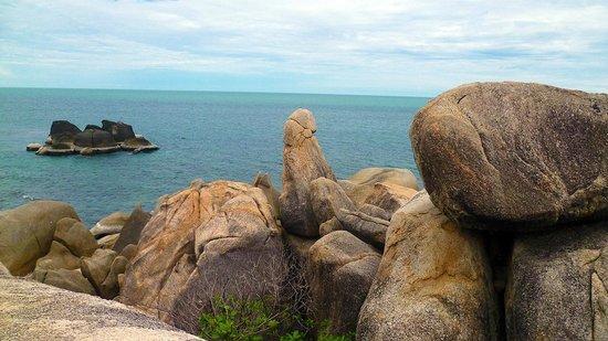 Hin Ta & Hin Yai Rocks: il nostro organo maschile...il grande nonno