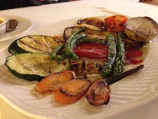 Mas Pou: Starter- Grilled Vegetables