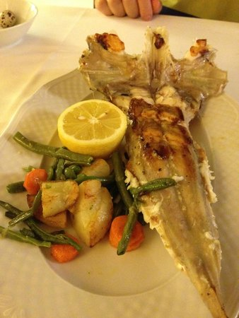 Mas Pou: Main- Grilled Monkfish