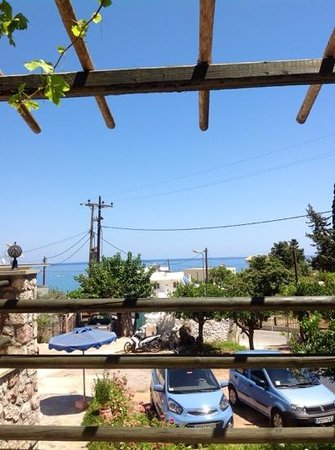 Aroma Stegna: the view from the terrace