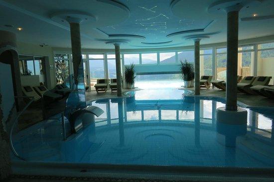 Bärenhotel: piscina interna-esterna