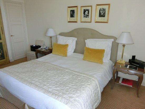 La Réserve de Beaulieu Hôtel & Spa : Bedroom