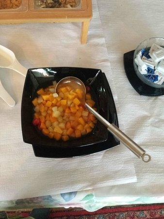 Hotel de Chailly: Frühstücksbuffet