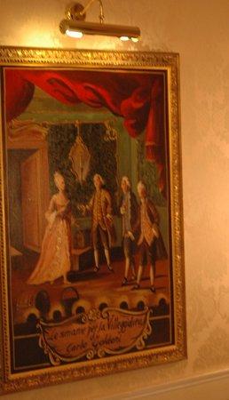 Hotel Canal Grande: Scène de Goldoni