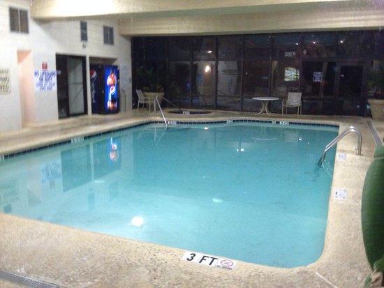 Indoor Pool Picture Of Meridian Plaza Myrtle Beach Tripadvisor