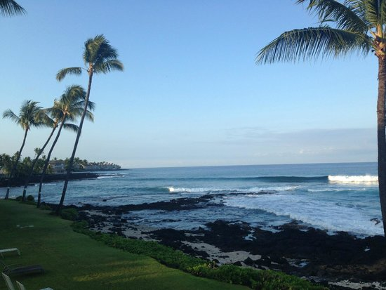 Kona Reef Resort: Our view