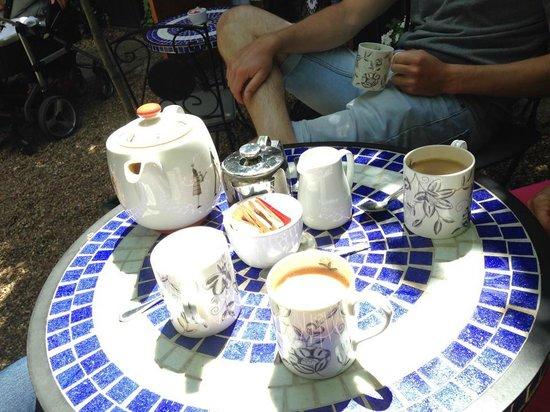 The Courtyard Tea Rooms: Pot of tea for four