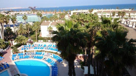 Estival Park Salou: vue depuis notre balcon