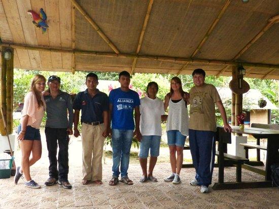 Sacha Runa Jungle Lodge : Crew