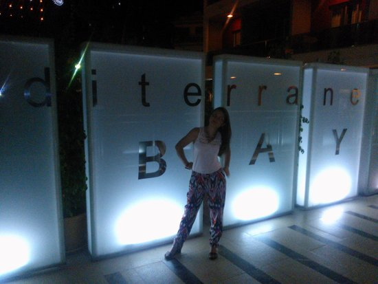 Mediterranean Bay Hotel : Bonitos luzes