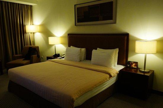 Grand I Hotel : Bed